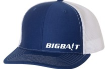 Big Bait BlueWhite Hat